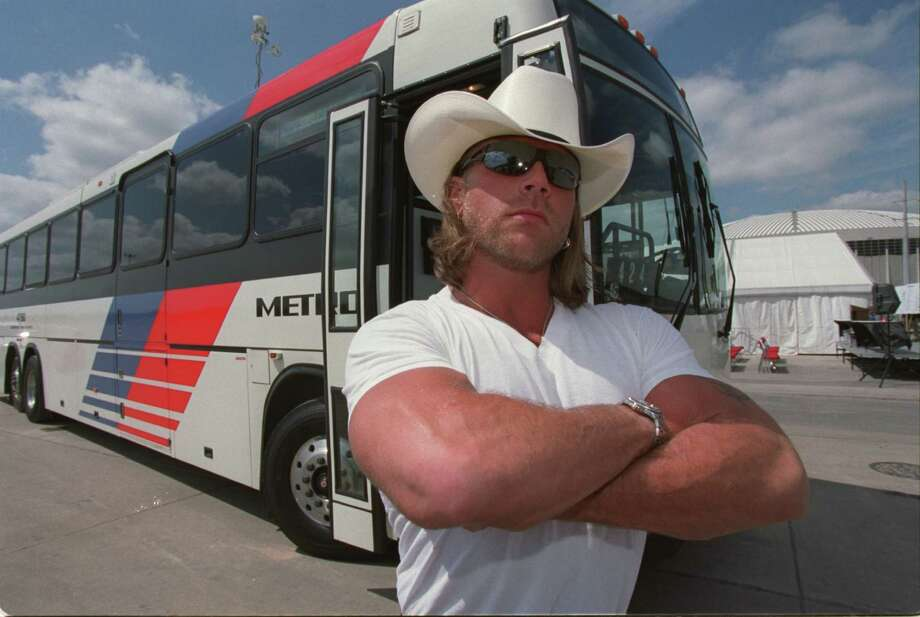 Shawn Michaels, The Heartbreak Kid, posed for Playgirl, but it wasn't completely naked. (Bruce Bennett / Special to the Chronicle) Photo: Bruce Bennett, Special To The Chronicle / Freelance
