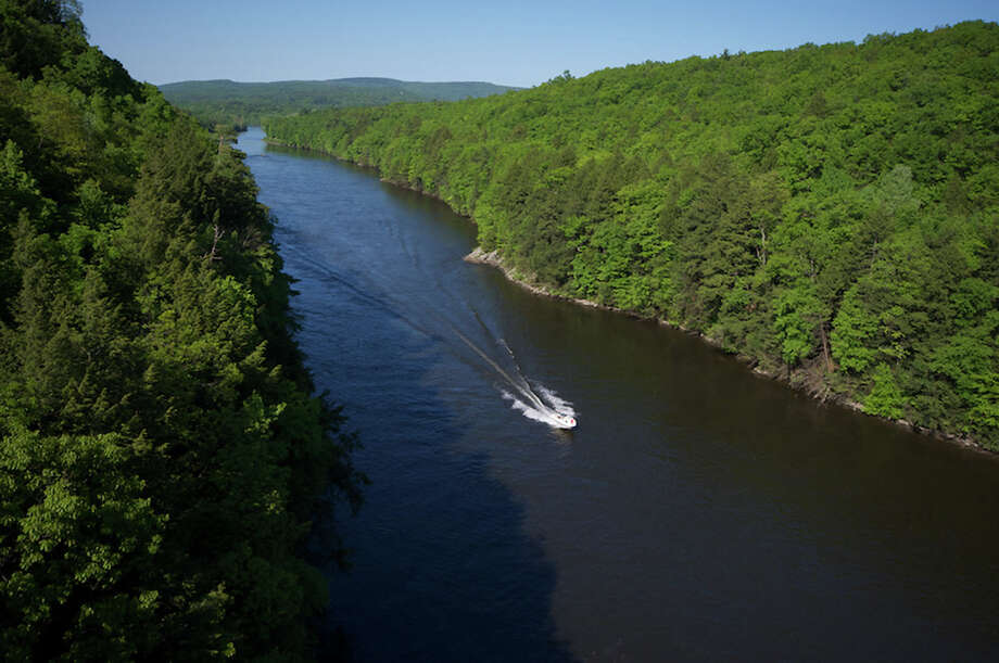 In May 2012, the Obama administration designated the Connecticut River and its 7.2 million-acre watershed as the first segment of a new National Blueways System. Above, The Connecticut River in Franklin County, Massachusetts. Photo courtesy of Evan Gregg, Massachusetts Office of Travel & Tourism. Photo: Contributed Photo