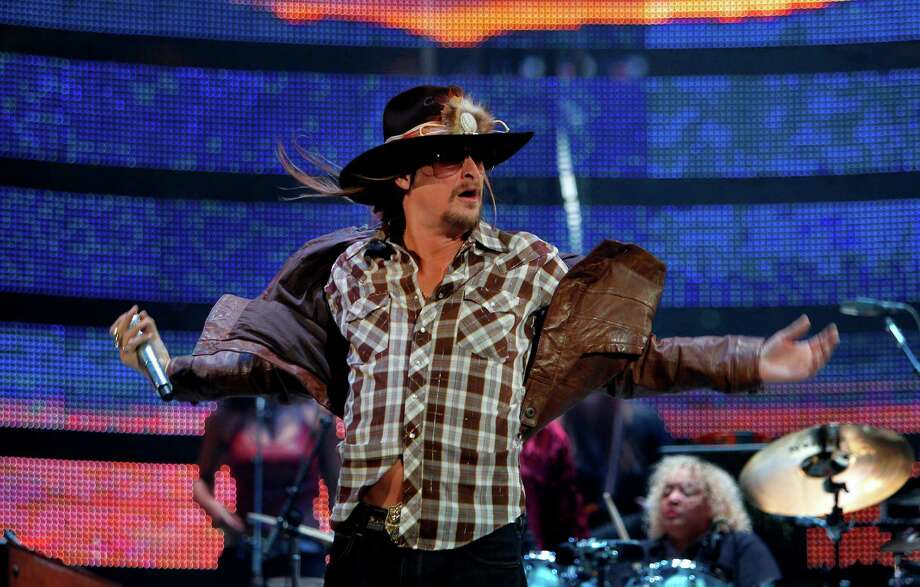 Kid Rock's beer is aptly named American Badass Redneck Beer. Photo: Mayra Beltran, Houston Chronicle / © 2012 Houston Chronicle