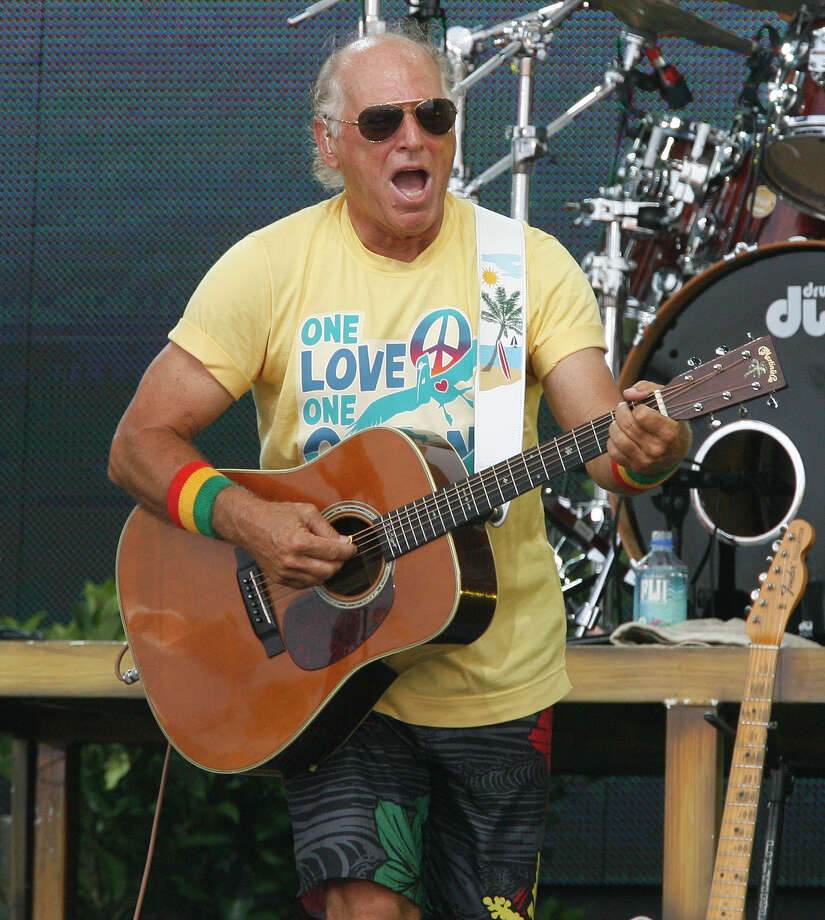 Jimmy Buffett  came up with the beer called Landshark Lager. Photo: CHIP ENGLISH, AP / AP