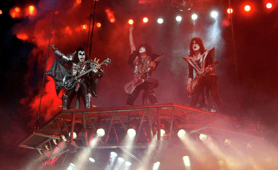 KISS, no strangers to mass merchandising, came up with Destroyer Beer.  Photo: JULIO CESAR AGUILAR, AFP/Getty Images / AFP