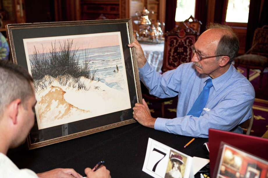Gil Rodriguez at LMMM's Antiques Appraisal Weekend 2011. Photo: Contributed Photo