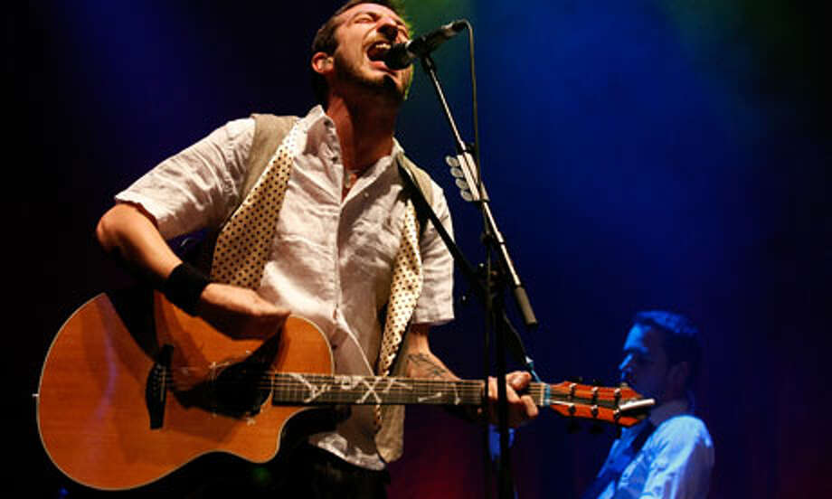 Frank Turner recently announced he was crafting his own wheat beer.  / Redferns