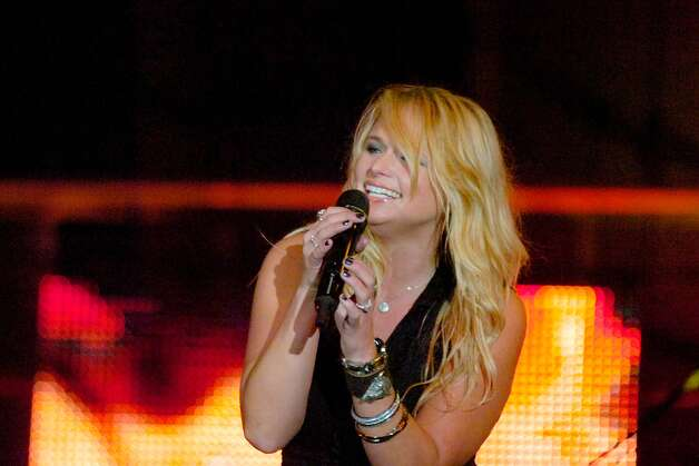 CMA star Miranda Lambert performs with her band Saturday night at Ford Park. Lambert, an East Texas native, made country music history two weeks ago when she socred 9 nominations for the upcoming CMA awards - the most ever for a female performer.   Valentino Mauricio/The Enterprise Photo: Valentino Mauricio / Beaumont
