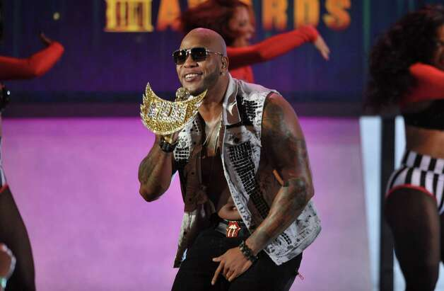 Flo Rida performs at the ALMA Awards on Sunday, Sept. 16, 2012, in Pasadena, Calif. (Photo by John Shearer/Invision/AP) Photo: John Shearer, INVL / Invision