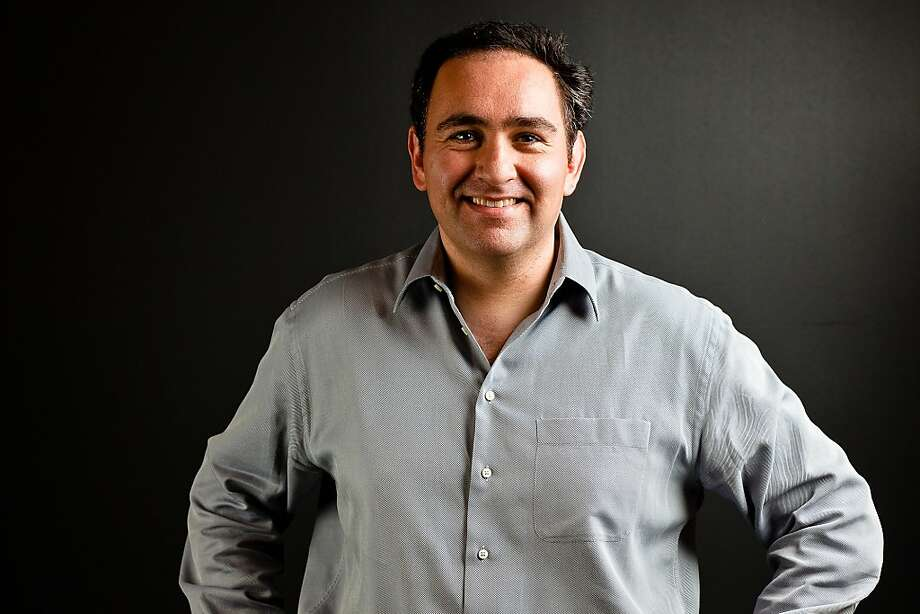 Ali Rowghani became Twitter's chief financial officer after holding the same position at Pixar. Photo: Via Bloomberg