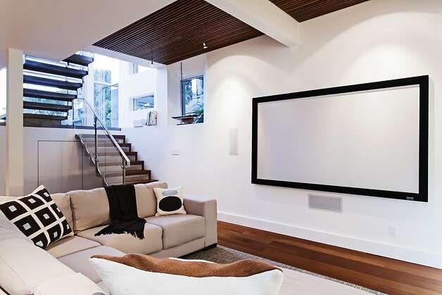 The home also has a media room. Photo: Christine Nguyen