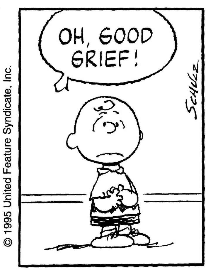 """Peanuts"" mostly followed sad sack Charlie Brown, who never got to kick the football, fly a kite that didn't snag in a tree, or get the love of his life, the little red-haired girl.""You can't create humor out of happiness,"" Schulz said in his 1980 book, ""Charlie Brown, Snoopy and Me,"" The New York Times wrote in its obituary of Schulz. He died in 2000 at age 77. (AP Photo/United Media) / UNITED MEDIA"