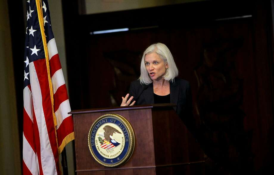 U.S. Attorney Melinda Haag in 2012. The conspirators showed no regard for the damage the loans were causing, she said. Photo: Sarah Rice, Special To The Chronicle