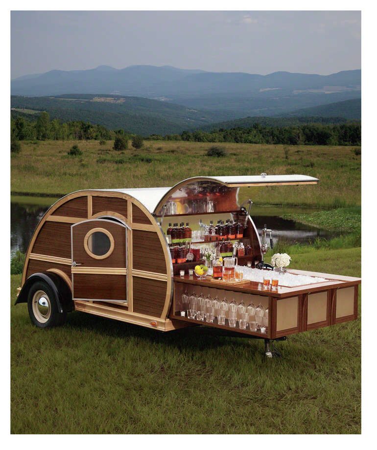 Add luxury to your next tailgating party with the Bulleit Woody Tailgate Trailer, $150,000 from the 2012 Neiman Marcus Christmas Book. Photo: --