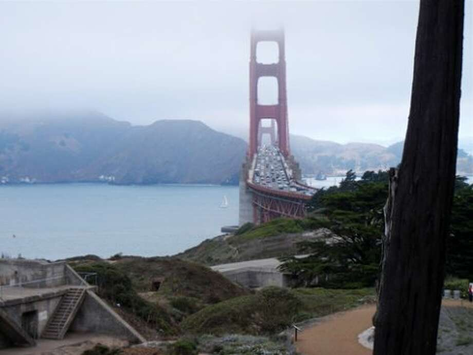 The Golden Gate Overlook in The Presidio served as the setting for the 10th Trails Forever Dinner benefiting the Golden Gate National Parks Conservancy (Catherine Bigelow)