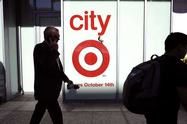 With 70,000 square feet, the CityTarget at the Metreon is 28 percent smaller than the typical suburban Target. Photo: Michael Short, Special To The Chronicle