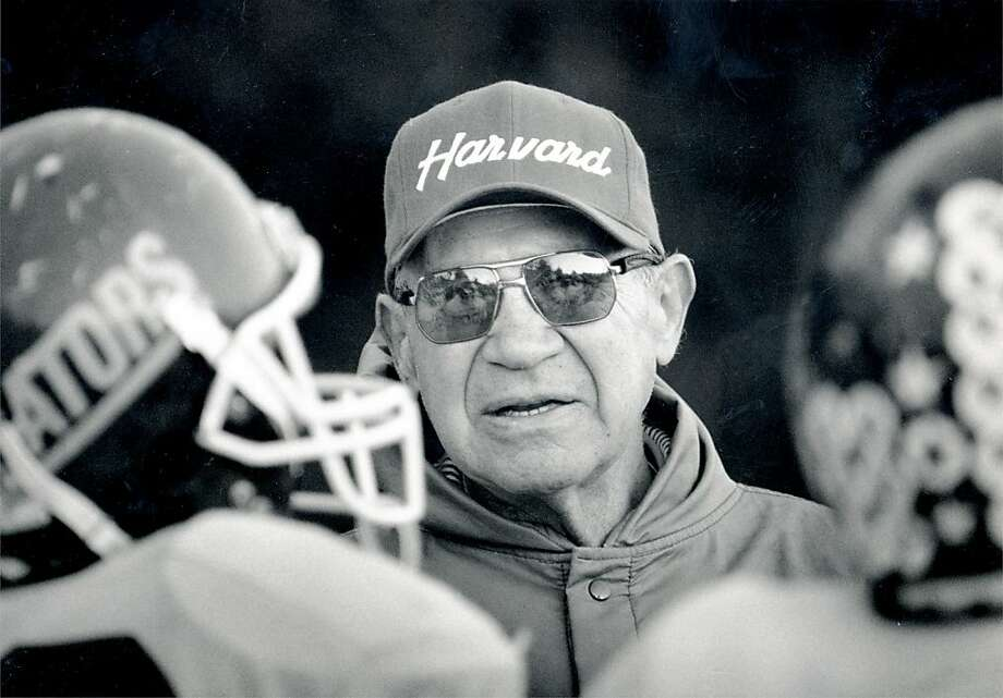 Vic Rowen retired in 1989 after three-plus decades coaching Gators football, a sport that was cut by S.F. State in 1995. Photo: SFC