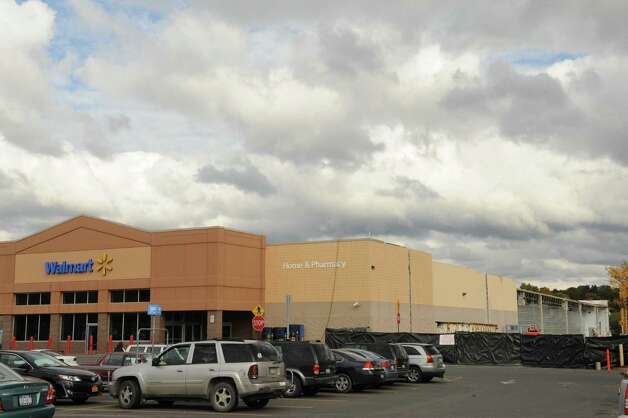 Walmart is adding about 40,000 square feet to this store  at 760 Hoosick Road to turn it into a supercenter in Brunswick, NY Tuesday Oct. 9, 2012. (Michael P. Farrell/Times Union) Photo: Michael P. Farrell