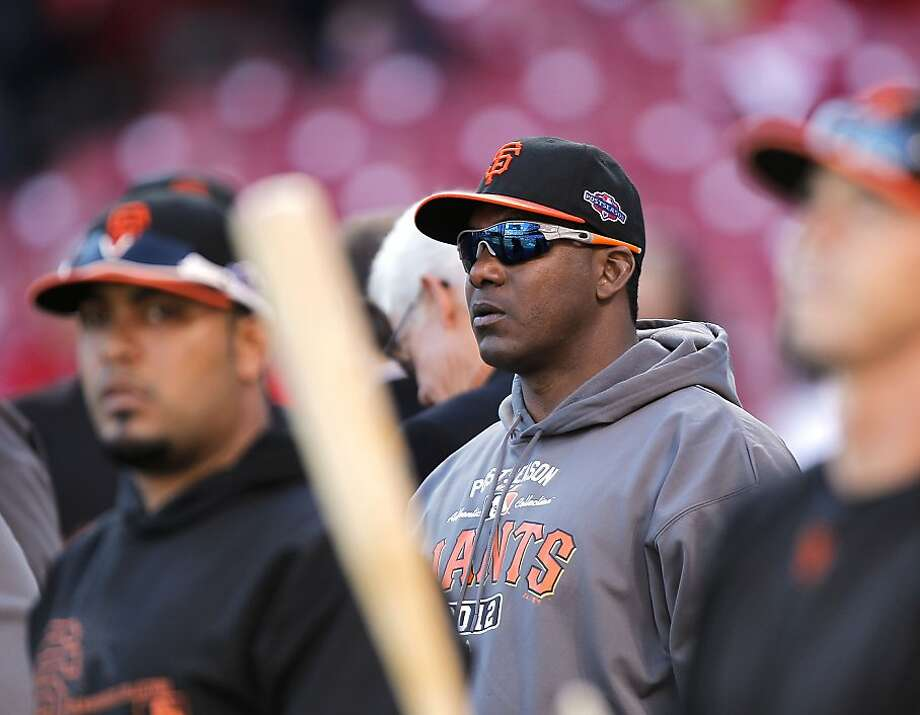 Giants batting coach Hensley Meulens will lead players from his native Curacao, Aruba and others with Dutch heritage. Photo: Michael Macor, The Chronicle