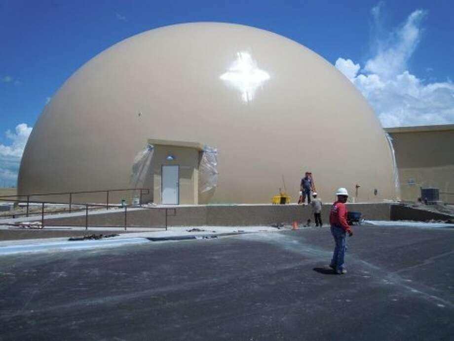 Another view of the dome.