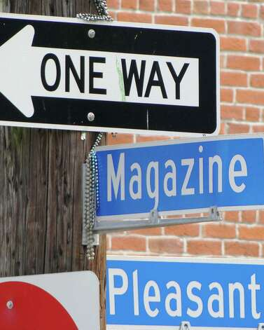 The personality of Magazine Street in New Orleans seems to change from block to block. It is home to neighborhoods, boutiques, restaurants and antiques shops. Photo: Tracy Hobson Lehmann, San Antonio Express-News