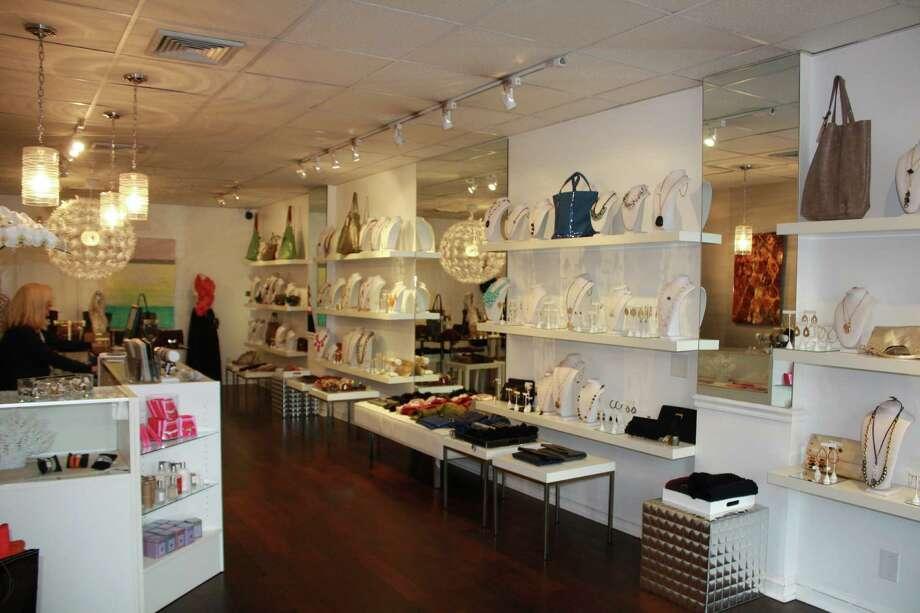 The interior of Bling, a ladies accessory store, at 37 Tokeneke Road in Darien, Conn. Oct. 8, 2012. Photo: Megan Davis