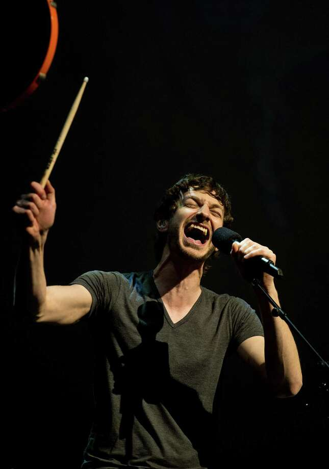 Gotye looks like he isn't going away either. It is OK, the world needs more international one-hit wonders.  Photo: Scott Sharpe / Raleigh News & Observer