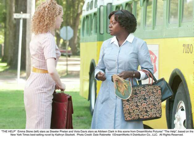 "Emma Stone, left, and Viola Davis star in ""The Help."" Davis' character, Aibileen Clark, was modeled off the maid who worked for author Kathryn Stockett's family when she was a child. Photo: Dale Robinette / ©DreamWorks II Distribution Co., LLC.  All Rights Reserved."
