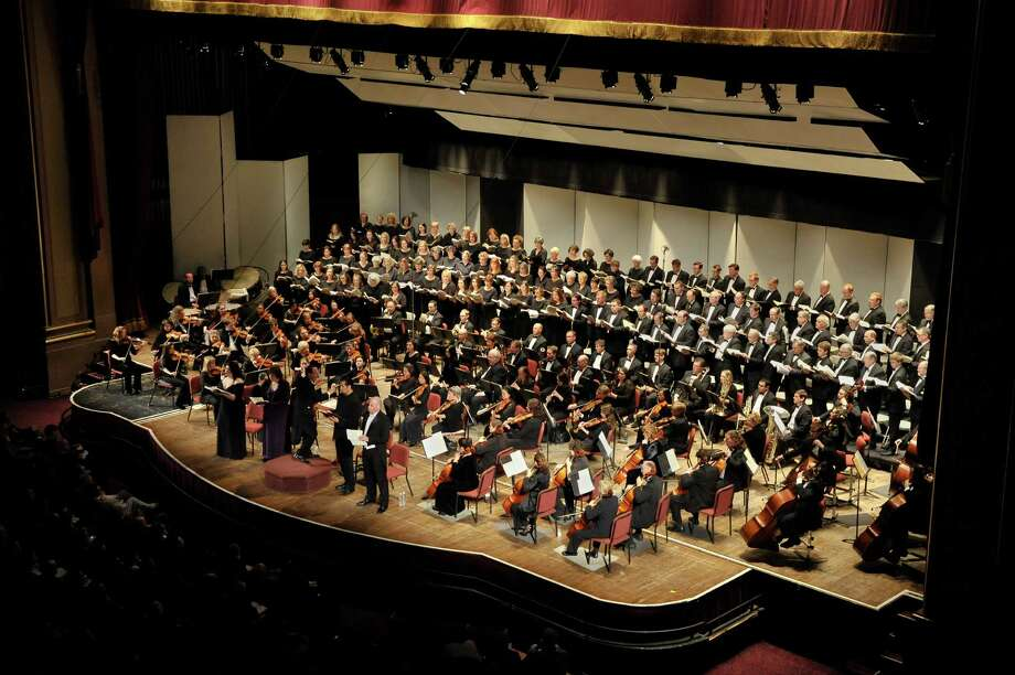 The Albany Symphony Orchestra and Albany Pro Musica performed Verdia€™s Requiem together in January 2011. (Gary D. Gold Photography) Photo: GOLD / GARY GOLD