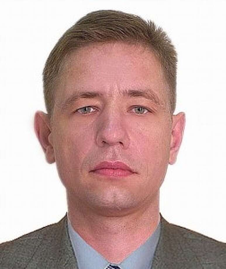 Yuri Savin,   a Russian citizen,  is a fugitive from U.S. facing charges that he was  part of a Houston-based ring that moved sensitive microelectronics from  the United States to Russia. Savinis believed to be in Russia. Photo: U.S. Department Of Justice