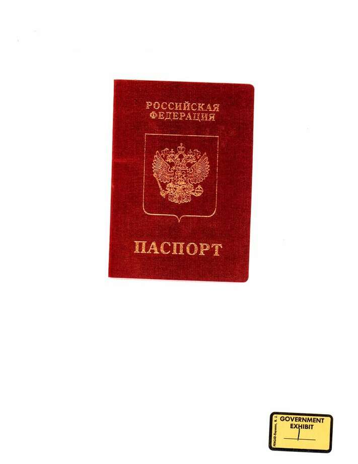 Russian passport cover. Photo: Chronicle