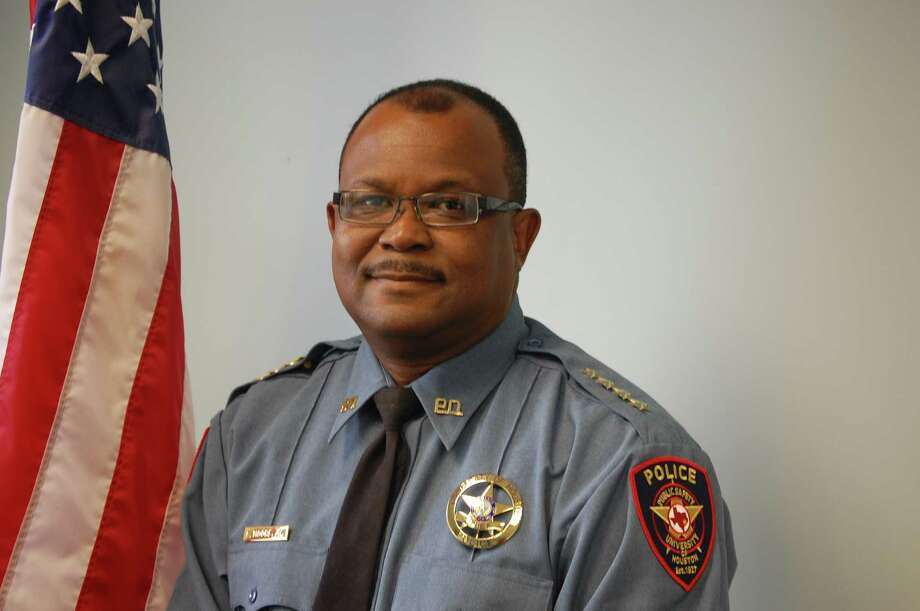 University of Houston Police Chief Ceasar Moore this week announced the firing of three unnamed officers in connection with the disappearance of two appliances. (University of Houston photo) Photo: Handout