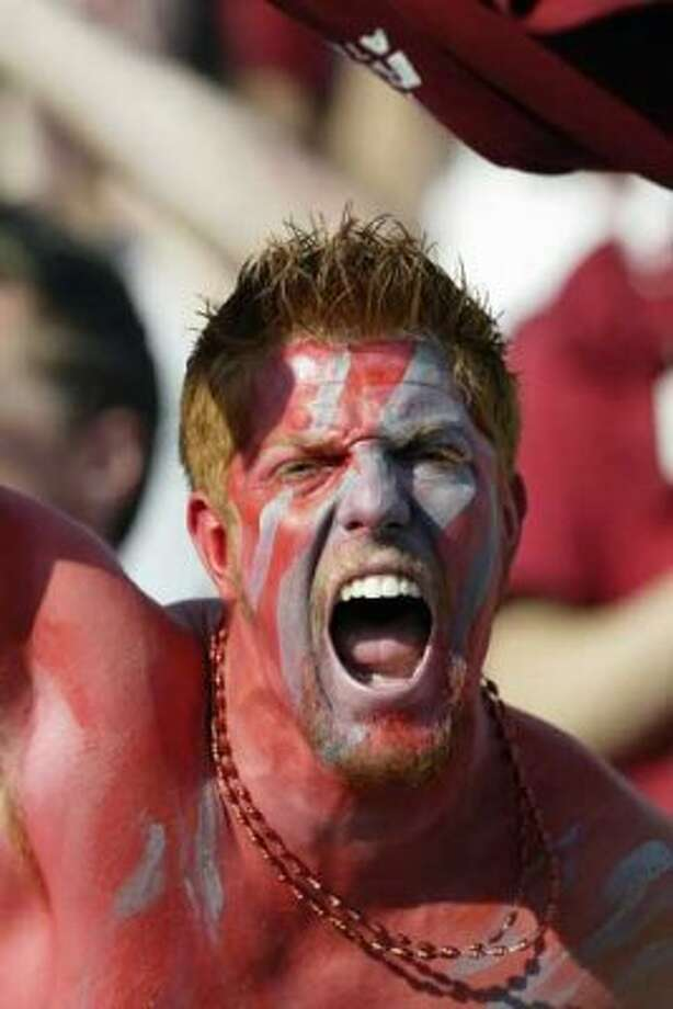 10. Cougar gear: Yes, Washington State University is in Pullman, but its football fans are here. Everywhere. Wearing college gear. It's enough to make a UW graduate buy a purple T-shirt or something. (Getty Images)