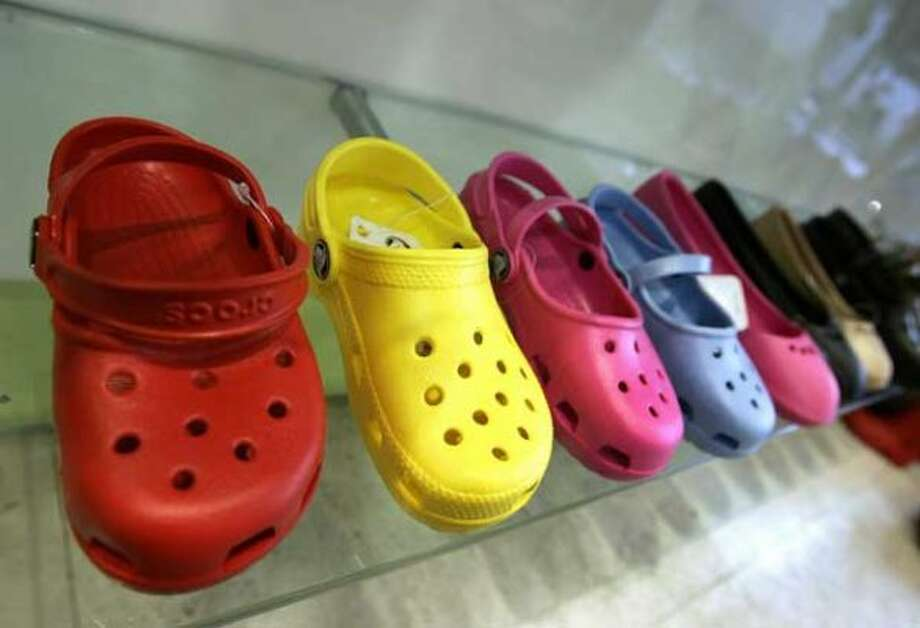 8. Crocs:They're great on kids, but not so great on adults. Waterproof and comfy? Seattle never stood a chance. (Getty Images)