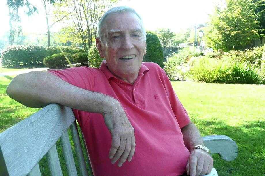 Tom Healy speaks to Seniority. Photo: Anne W. Semmes