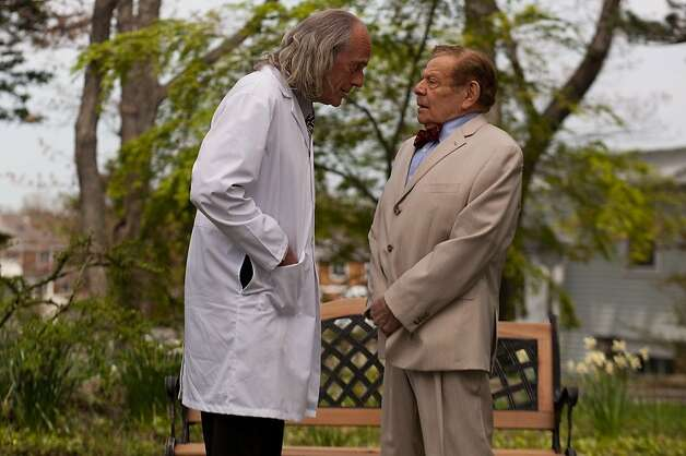 "Christopher Lloyd (left) and Jerry Stiller co-star in ""Excuse Me for Living,"" directed by Ric Klass. Photo: Mattheu Farmer, Dada Films"