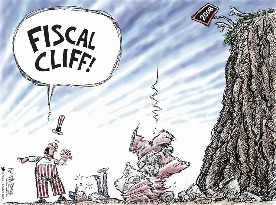 Today's editorial cartoon is by Nick Anderson of the Houston Chronicle.