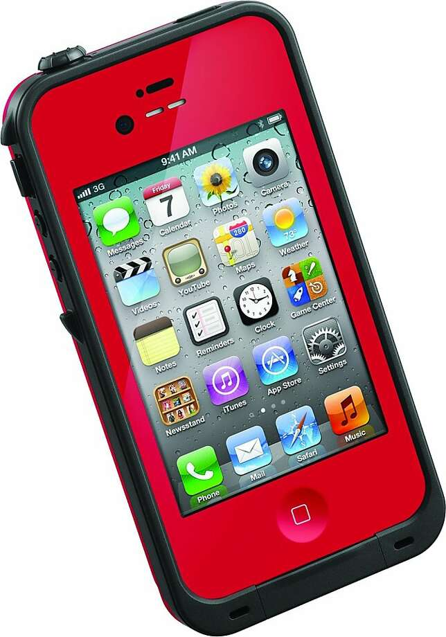 The Lifeproof iPhone Case is $79.99 from www.lifeproof.com. Photo: Lifeproof