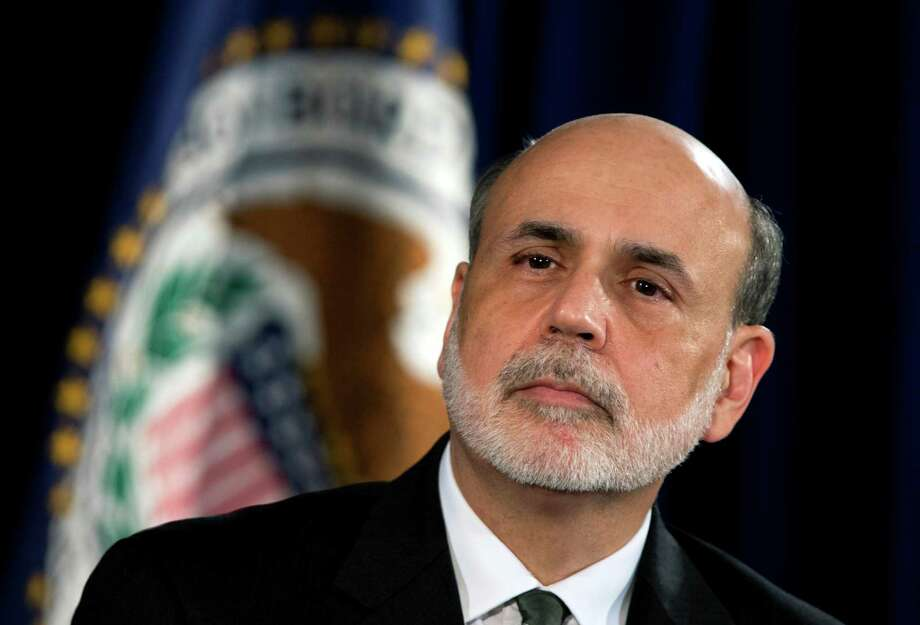 In this Thursday, Sept. 13, 2012, file photo, Federal Reserve Chairman Ben Bernanke speaks during a news conference in Washington. (AP Photo) Photo: Manuel Balce Ceneta, Associated Press / AP