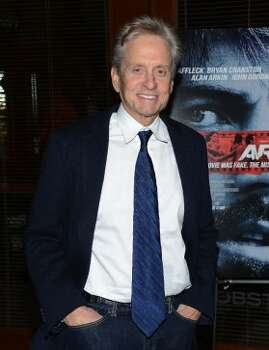 "Actor Michael Douglas attends the ""Argo"" screening at the Time Warner Screening Room on October 9, 2012 in New York City.   (Getty Images)"