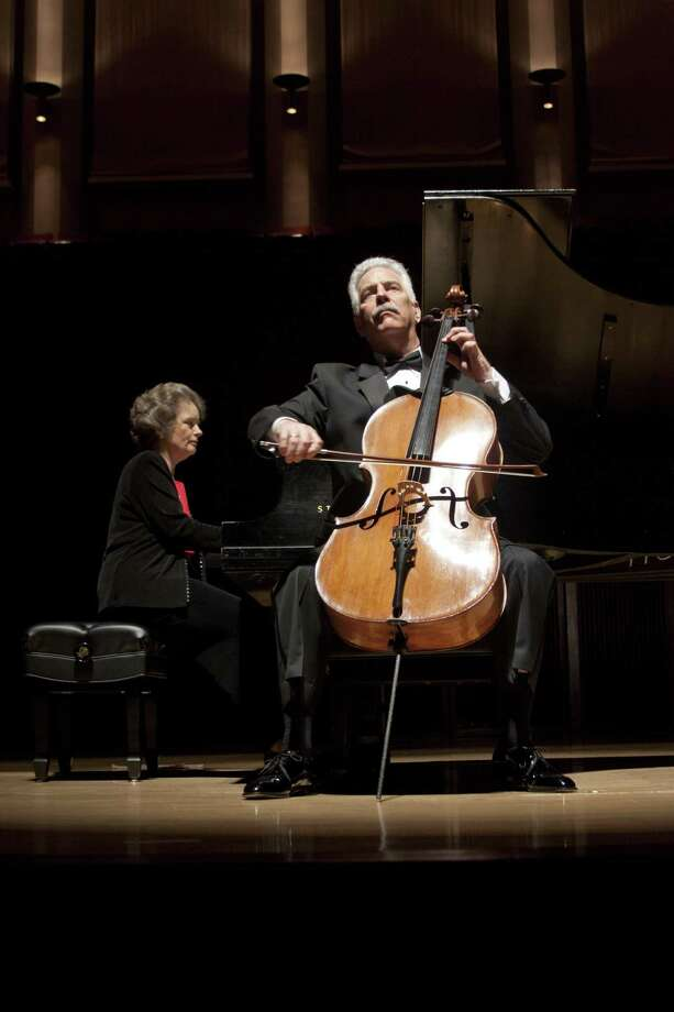 The Fischer Duo - cellist Norman Fischer and pianist Jeanne Kierman Fischer - will perform Sunday and Monday at Rice University. Photo: Courtesy Rice University