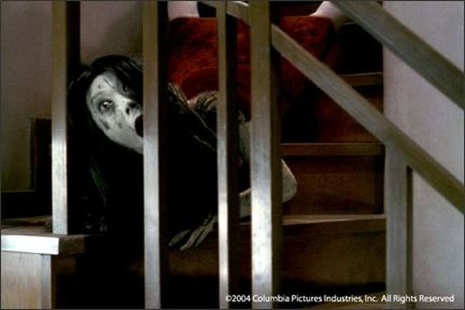 """23. """"The Grudge""""(2004):   This American remake of Japanese horror-curse flick """"Ju-on"""" didn't fare as well as the original or """"The Ring,"""" which came out the same year. But it still had some good scares. Photo: Columbia Pictures"""