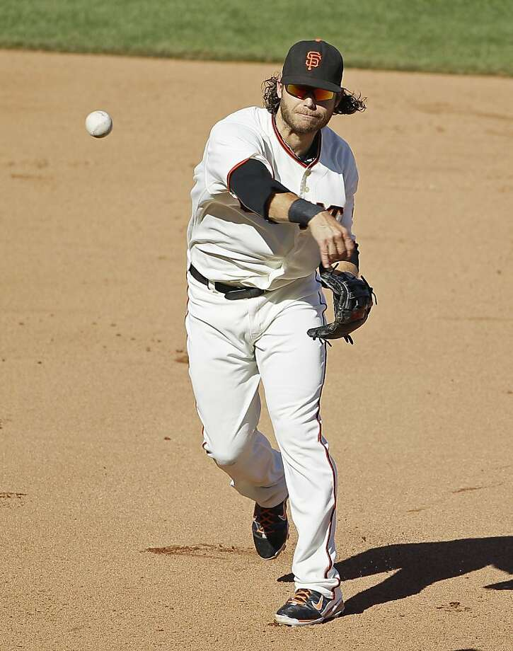 Brandon Crawford is an East Bay guy and the Giants' shortstop... Photo: Eric Risberg, Associated Press