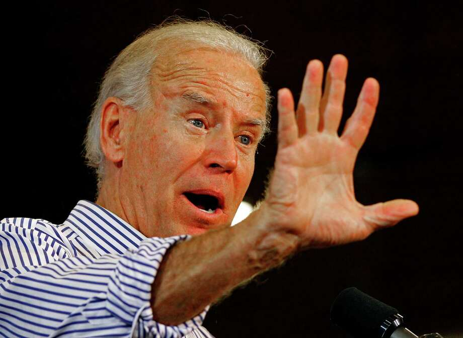 Vice President Joe Biden must be aggressive, but not overly so in the debate, observers say. Photo: Chuck Burton / AP