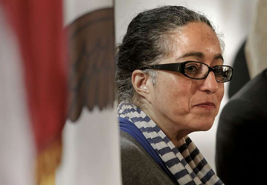 Supervisor Christina Olague cast the first vote to retain Ross Mirkarimi, perhaps burning political bridges in the process. Photo: Michael Macor, The Chronicle