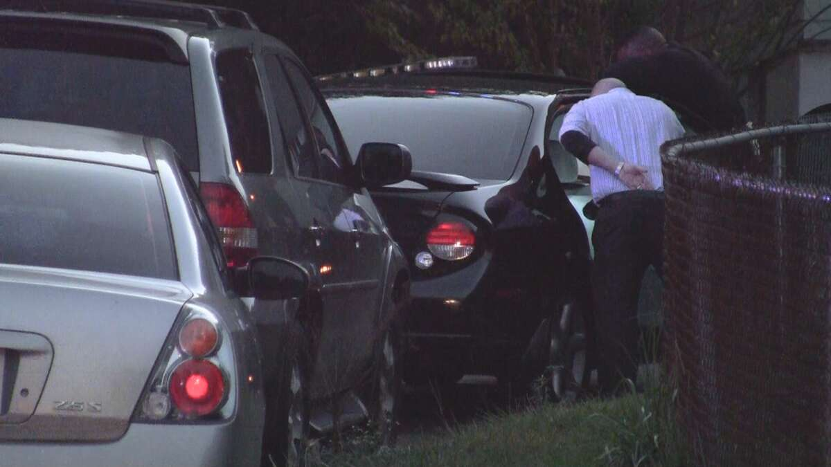 A man who had been shot multiple times was found in a running car on Sunshine Circle Wednesday night.