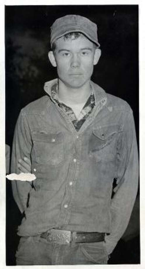 Nearvel Moon, shortly after his arrest, Nov. 29, 1958. (Chronicle file)