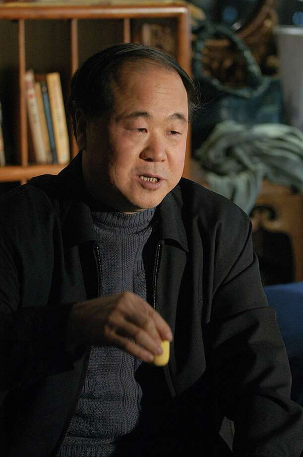 Chinese writer Mo Yan spoke during an interview in Beijing in 2005. Mo won the Nobel Prize in literature on Thursday, Oct. 11, 2012, in a somewhat unexpected choice by a prize committee that has favored European authors in recent years.  Photo: Associated Press / CHINATOPIX