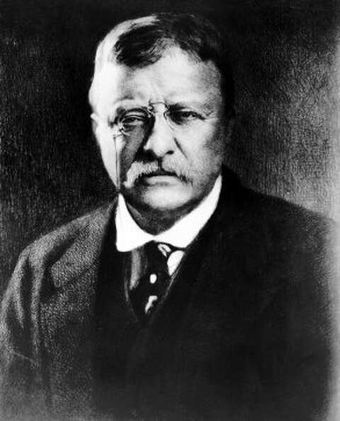 File - Theodore Roosevelt, the 26th president of the United States, is seen in this undated file pho