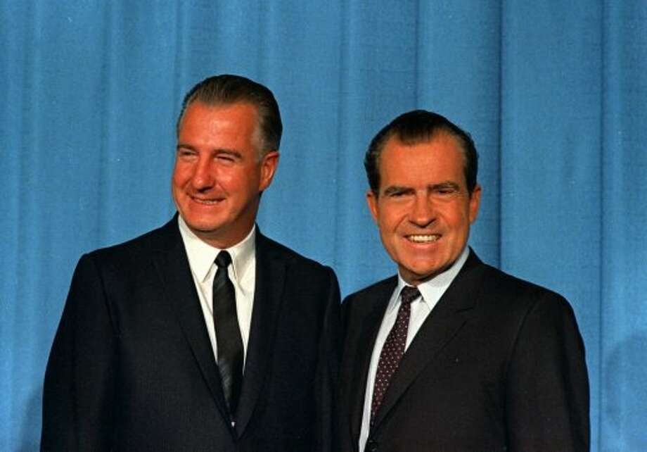 1972: Richard Nixon, Republican, winner (right)