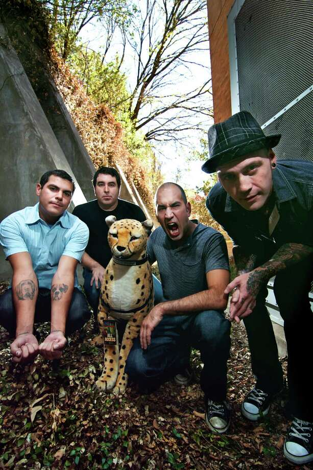 Alien Ant Farm plays the The Gig in Beaumont on Saturday, Oct. 13. Doors open at 8 p.m. Photo: Steven Gilmore