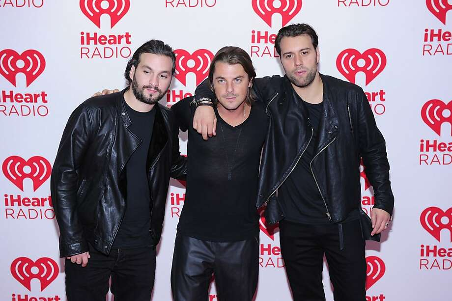 LAS VEGAS, NV - SEPTEMBER 21:  (L-R) Steve Angello, Axwell and Sebastian Ingrosso of Swedish House Mafia pose in the press room at the iHeartRadio Music Festival at the MGM Grand Garden Arena September 21, 2012 in Las Vegas, Nevada.  (Photo by Steven Lawton/Getty Images) Photo: Steven Lawton, Getty Images