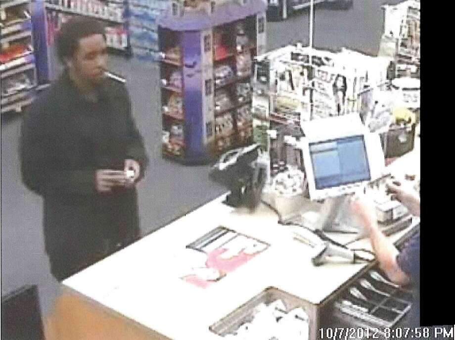 Colonie Police provided this photo of a man they suspect used counterfeit $100 bills at various stores.