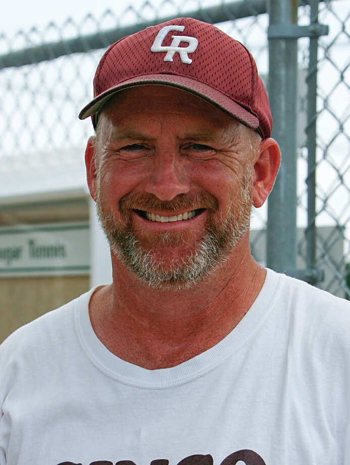 Cinco Ranch varsity tennis coach Colin Harvey Photo: Diana L. Porter / Freelance